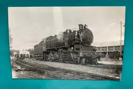 Locomotive SNCF 140 H 806 - Photo Poitiers - 1950- Train Origine USA Etats Unis - Treinen