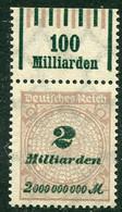 Deutsches Reich - Mi. 326 A W OR ** - Ungebraucht