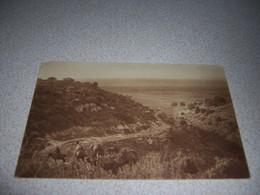 1910s VIEW Of MOUNTAIN TRAIL, SYRIA, ANTIQUE POSTCARD W/ STAMPS - Siria