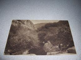 1910s VIEW Of MOUNTAINS & RIVER, SYRIA, ANTIQUE POSTCARD W/ STAMPS - Siria