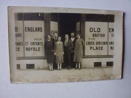 CARTE PHOTO OLD ENGLAND, PEUT-ÊTRE 22 AVENUE DE LA VICTOIRE A NICE? D'APRES RECHERCHE SUR ANNUAIRE TELEPHONIQUE - Unclassified