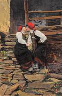 "9481""IN VALSESIA-COSTUME DI RIMA S. GIUSEPPE""VERA FOTOGRAFIA-CART. SPEDITA 1916 - Costumes"