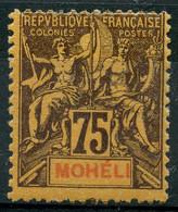 Moheli (1906) N 13 * (charniere) - Neufs