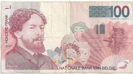 Belgique 100 Francs Ensor (non Daté) - 100 Francs