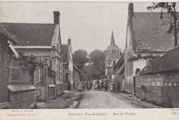 FOSSEUX   Rue De L'Eglise - Autres Communes