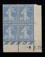 Coin Daté - YV 237 N** Semeuse Du 6.8.29 - ....-1929