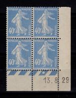 Coin Daté - YV 237 N** Semeuse Du 13.8.29 - ....-1929