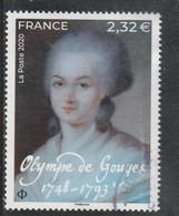FRANCE 2020 OLYMPE DE GOUGES OBLITERE YT 5408 - Used Stamps