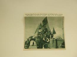 """Origineel Knipsel ( 7759 ) Uit Tijdschrift """" De Stad """" 1935 :  Ieper    Vissers Uit De Panne - Oude Documenten"""