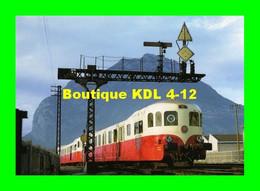 ART 073 - Autorail Decauville X 52100 Entrant En Gare - GRENOBLE - Isère - SNCF - Grenoble