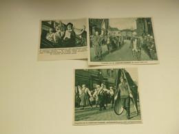 """Origineel Knipsel ( 7761 ) Uit Tijdschrift """" De Stad """" 1935 :  Carnaval  Karnaval  Aalst   Alost - Oude Documenten"""