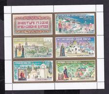 RUSSIA 2004 #917-921. Monasteries Of The Russian Orthodox Church. M/s MNH - Blocchi & Fogli