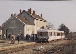 Autorail Picasso X 3871 De L'AAty (autorail Ex-SNCF) Lors D'un Voyage Spécial De L'IFC à Beaune La Rolande - Other
