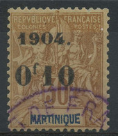 Martinique (1904) N 54 (o) - Used Stamps
