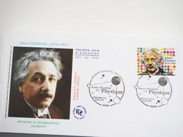 FDC Albert Einstein - Premier Jour, Paris, Autre Ville (16/04/2005) - 2000-2009