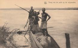Afrique Terug Van De Jacht Op De Nijlpaarden  Congo - Congo - Kinshasa (ex Zaire)