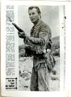 "#930  Lex Barker In Film Old Shatterhand, ""Old West""  - Image Card 1960's - Andere"