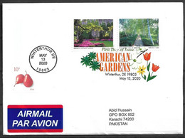 BEAUTIFUL USED COVER AMERICA TO PAKISTAN - Other