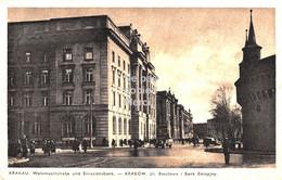 Krakau - Krakow - Ul. Basztowa I Bank Emisyjny - Wehrmachtsstraße Und Emissionsbank - 1942 - Polonia