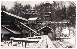 DARMANESTI / BACAU : MINA LAPOS - TRAIN De MINE / COAL MINE TRAIN - CARTE VRAIE PHOTO / REAL PHOTO - 1935 - RRR ! (af613 - Rumania