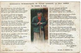 G - Monologues Patois Normand Par H Ermice - La Culotte à Pont - - Sin Clasificación