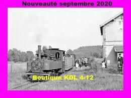 AL 658 - Loco 040 T DFB N° 10 En Gare De PONT-SAINT-MARD - Réseau Sucrerie De Coucy Le Château - Trenes