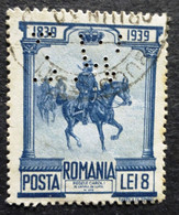 1939 Romania Stamp Used/hinged-Battle Of Pievna No IT-1086 - 1918-1948 Ferdinand, Charles II & Michael