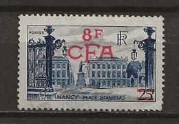 REUNION CFA: Obl., N° YT 301, TB - Reunion Island (1852-1975)
