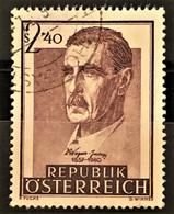 AUSTRIA 1957 - Canceled - ANK 1041 - Wagner-Jauregg - 1945-60 Used