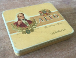 Boîte En Fer 20 Cigarillos ALTO Gardena - Scatola Di Sigari (vuote)