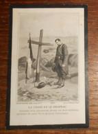 Image De Décès D'un Soldat Du 59e Chasseurs à Pied, Mort Pour La France Au Bois D'Avocourt En 1917. - Devotion Images