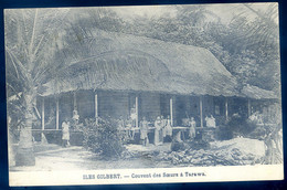 Cpa Océanie Micronsie Iles Gilbert -- Couvent Des Soeurs à Tarawa      SE20-23 - Micronesia