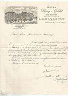 LIBRAMONT ;  Hôtel Duroy-Goblet  Vis à Vis De La Gare En 1902 . - Documents Historiques