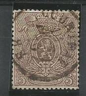 1866-67 - COB N° 25 A - Dent: 15 - Oblitéré (o) - Oblitération Centrale - Très Bon Centrage - Très Frais - 1866-1867 Coat Of Arms