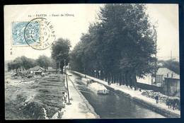 Cpa  Du 93  Pantin Canal De L' Ourcq SE20-23 - Pantin