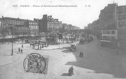 Paris Place Et Boulevard Ménilmontant - Transporte Público