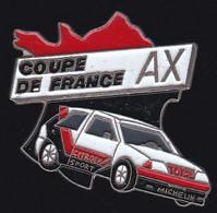 67519-Pin's.coupe De France Citroen AX.rallye Automobile. - Citroën