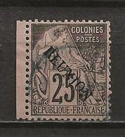 REUNION: Obl., N° YT 24, Tb Centré, TB - Reunion Island (1852-1975)