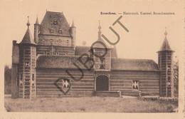 Postkaart-Carte Postale  - BROECHEM - Historisch Kasteel Bosschenstein   (B887) - Ranst