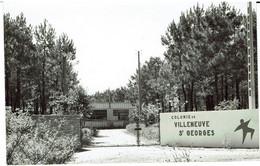 D - CPSM - 85 - SAINT HILAIRE DE RIEZ - Colonie De VILLENEUVE SAINT GEORGES - - Saint Hilaire De Riez