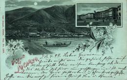 77818- Mondschein Litho Locarno Kanton Tessin 1899 - TI Ticino