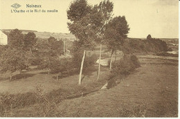 Noiseux -- L' Ourthe Et Le Bief Du Moulin. (2 Scans) - Somme-Leuze