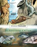 Togo 2011 MNH - Ecosystem Of River Nil. YT 516, Mi 4226/Bl.645 - Togo (1960-...)