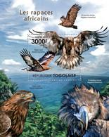 Togo 2011 MNH - Birds Of Prey Of Africa. YT 530, Mi 4126/Bl.633 - Togo (1960-...)