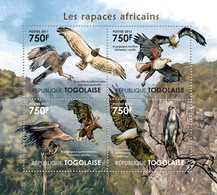 Togo 2011 MNH - Birds Of Prey Of Africa. YT 2716-2719, Mi 4122-4125 - Togo (1960-...)
