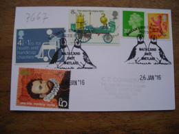 Baltasound Unst Shetland, Britain's Most Northerly Post-ofice Puffin, Macareux  Bureau De Poste Au Plus Nord, - Storia Postale