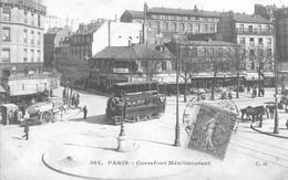 Paris Carrefour Ménilmontant - Transporte Público
