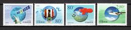 CHINE  N° 3850 à 3853  NEUFS SANS CHARNIERE  COTE  3.50€  ESPACE METEOROLOGIE - Unused Stamps