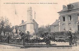 LA NEUVILLE CHAMP D'OISEL - Monument Aux Morts - Francia