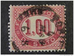 """ITALIA Regno -1875- """"SERVIZIO""""  1,00 US° (descrizione) - 1861-78 Vittorio Emanuele II"""